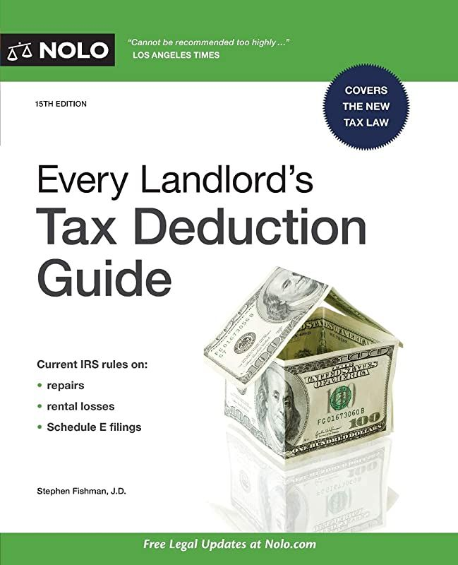 Read Book Every Landlord S Tax Deduction Guide By Stephen Fishman J D