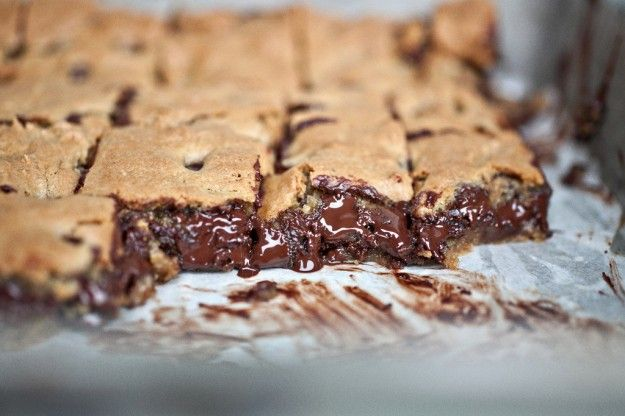 Chocolate Chip Toffee Bars..Lord have mercy.