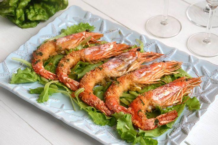 Gamberoni al forno, scopri la ricetta: http://www.misya.info/ricetta/gamberoni-al-forno.htm