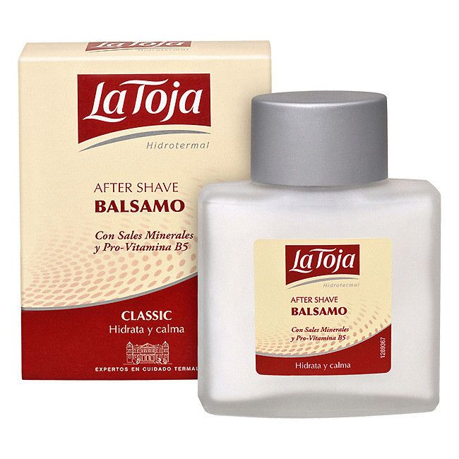 La Toja Hydrothermal Classic After Shave Balm with Mineral Salts and Pro-vitamin B5