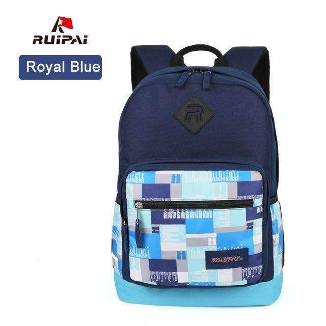 Ruipai Fashion School Backpacks For Girls School Bags Backpack Schoolbags Breathable Mochila Students Boys Backpack Bags
