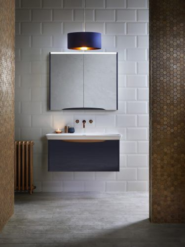 Utopia Bathrooms' latest collection of modular furniture includes the luscious Lustre range. Tactile, sculptural and available in a fabulous selection of on-trend colours.