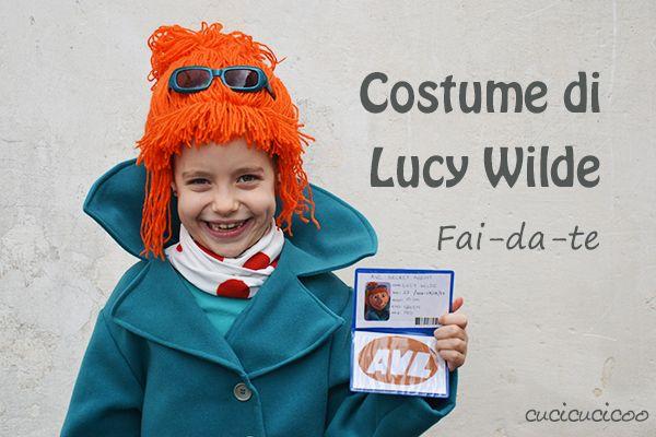 Costumi Cattivissimo Me fai-da-te: sciarpa e cappotto di Lucy Wilde
