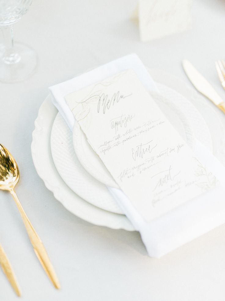 View entire slideshow: Beautiful White Wedding  Details  on http://www.stylemepretty.com/collection/2688/