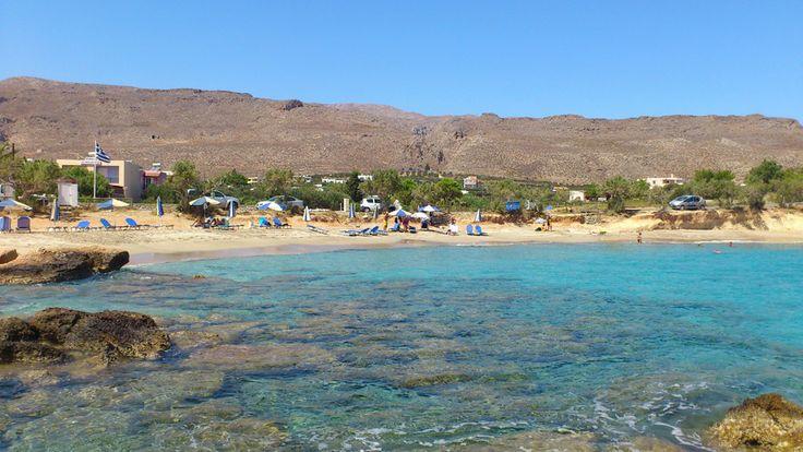 Xerokambos beach East Crete