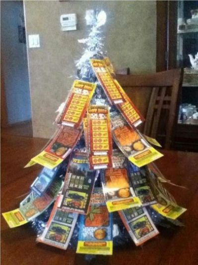 Lottery ticket tree!                                                                                                                                                                                 More