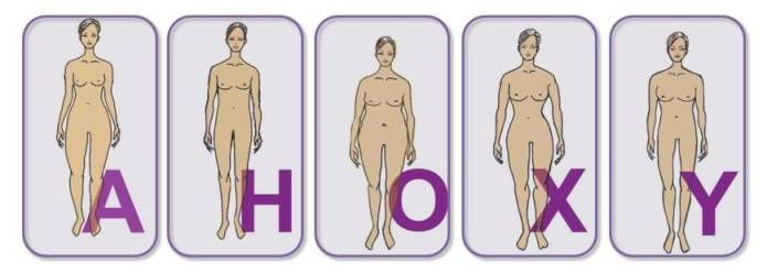 Die 5 häufigsten Figur-Typen. Welcher sind Sie? Mehr Infos gibt's bei modefluesterin.de.