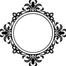 Resultado de imagem para round frame clipart