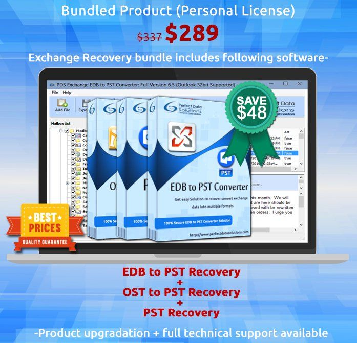 EDB to PST software has great quality to works on damage exchange EDB file and convert exchange EDB file to PST with EDB version upto 2013.  Read More:- https://twitter.com/edb2pstconvers