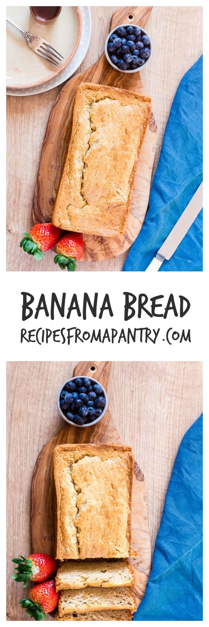 A quick and simple banana bread recipes. Something for the entire family.  | Recipes From A Pantry