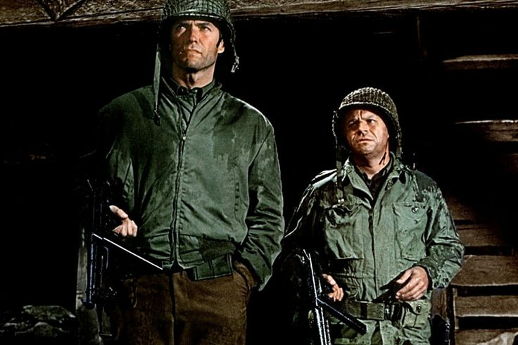 Movie scene patriotic eastwood