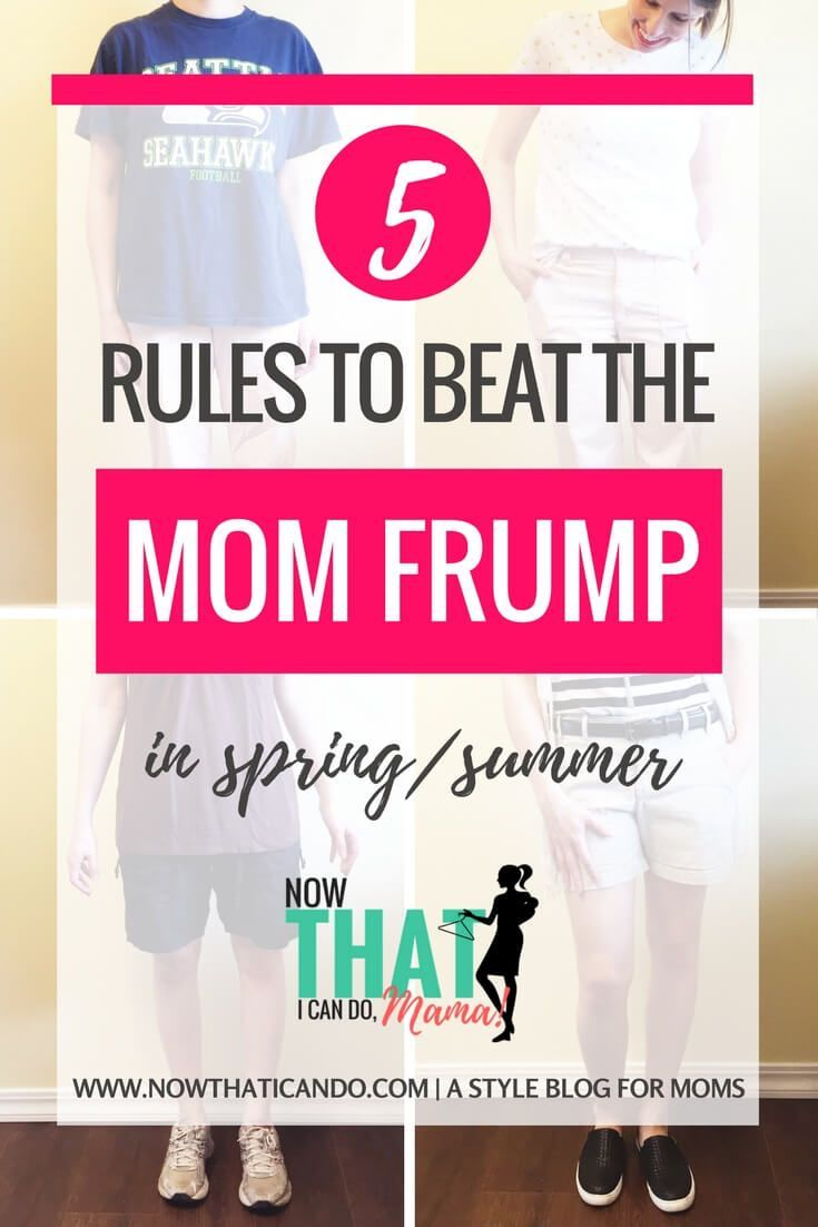 Moms can dress well and feel great by following these easy tips for avoiding the frumpy mom look. Love this whole blog! awesome advice for busy mamas who want to take care of themselves again! She also has a capsule wardrobe plan for stay at home moms. LOVE!