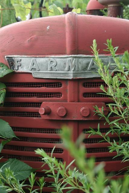 Old tractor taken by Joel Middleton