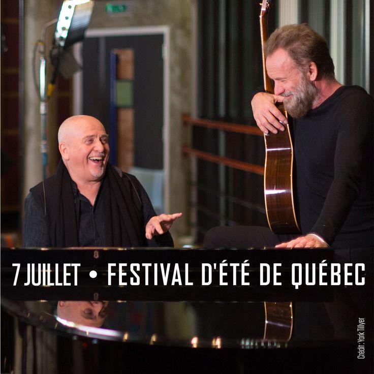 Sting & Peter Gabriel, Rock Paper Scissors, 7 juillet 2016 sur la scène Bell des plaines d'Abraham.