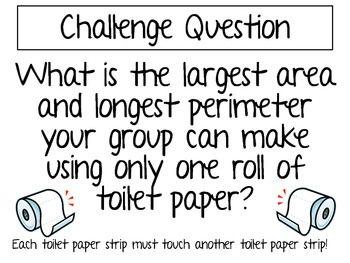 Toilet Paper Math Challenge Project