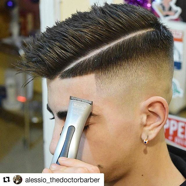 #Repost @alessio_thedoctorbarber with @repostapp ・・・ #barber #barbers #barbershop #nastybarbers #thebarberpost #freshcut #fade #sharpfade #nicestbarbers #barbergang #barberlife #combover #barbering #barberlifestyle #barberworld #barberhub #cleancut #taper #skinfade #menshair #barberlove #showcasebarbers #barbersince98 #barbersinctv #barbernation #barbergrind #barbershopconnect #hair #pompadour