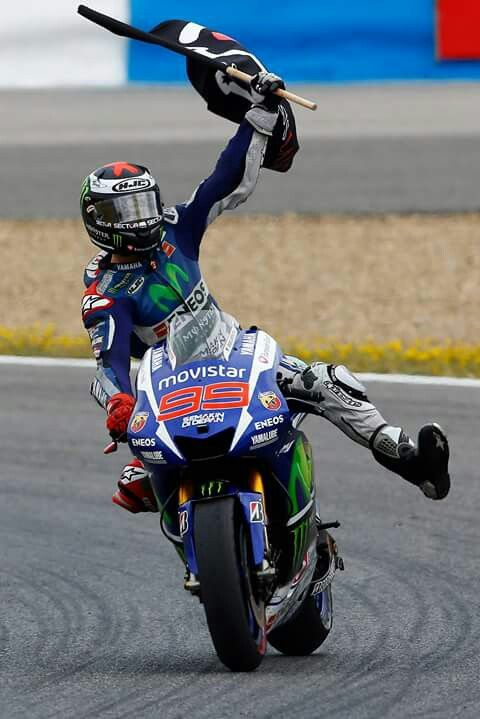 MotoGP 2015 - Jorge Lorenzo #99 - Winner of Spanish GP (Jerez).