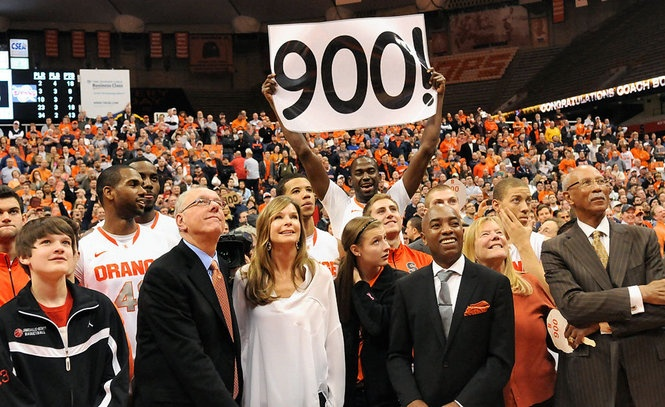 Congratulations to Jim Boeheim on 900 career wins!