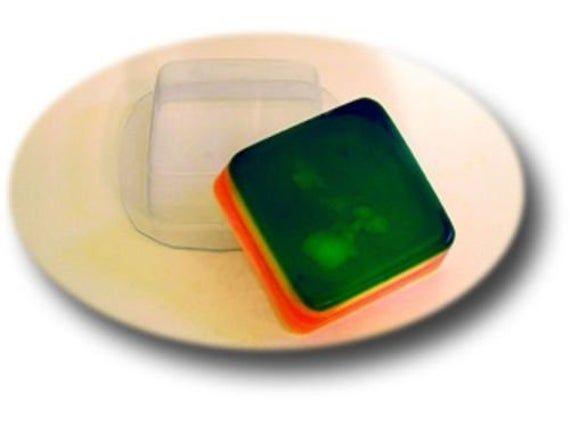 "/""Square/"" plastic soap mold soap making mold mould"