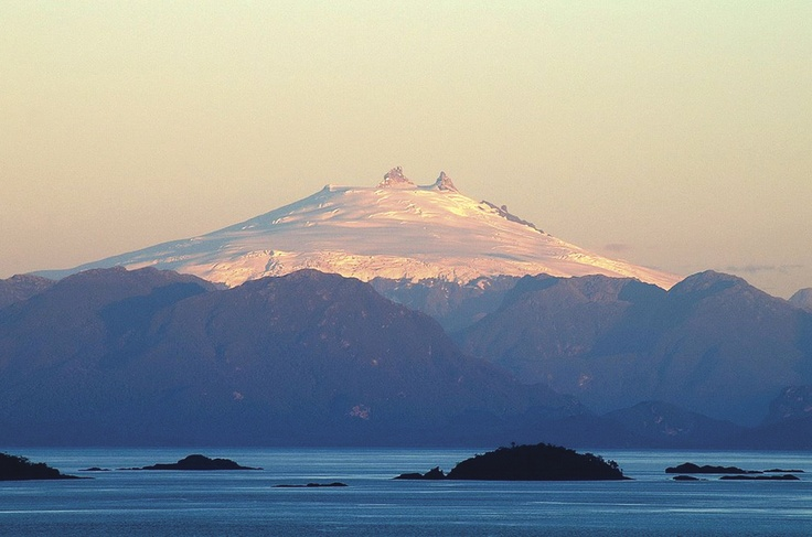 Mt. Melimoyu, Patagonia Sur Reserves, Chile. Lend a click to #biodiversity #conservation and #indigenous leaders by sharing our indiegogo indigenous scholarship campaign: http://www.indiegogo.com/projects/indigenous-leader-scholarships-latin-american-conservation-congress/x/1273897?c=gallery