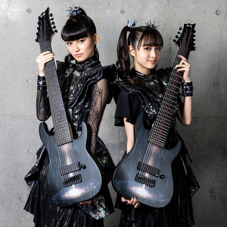 Babymetal music women Asian band SuMETAL MoaMETAL