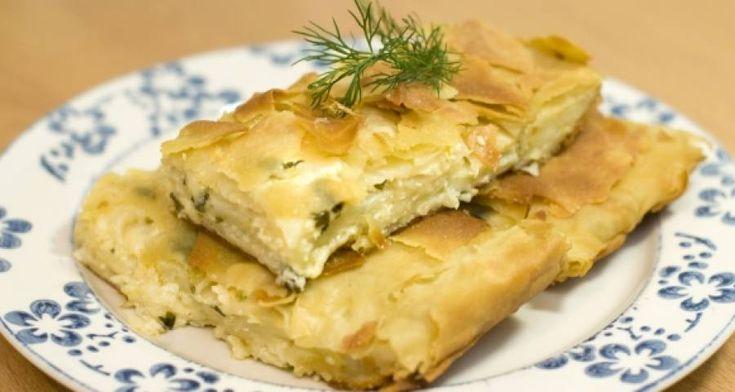 Как приготовить  Пирог из лаваша с сыром и зеленью