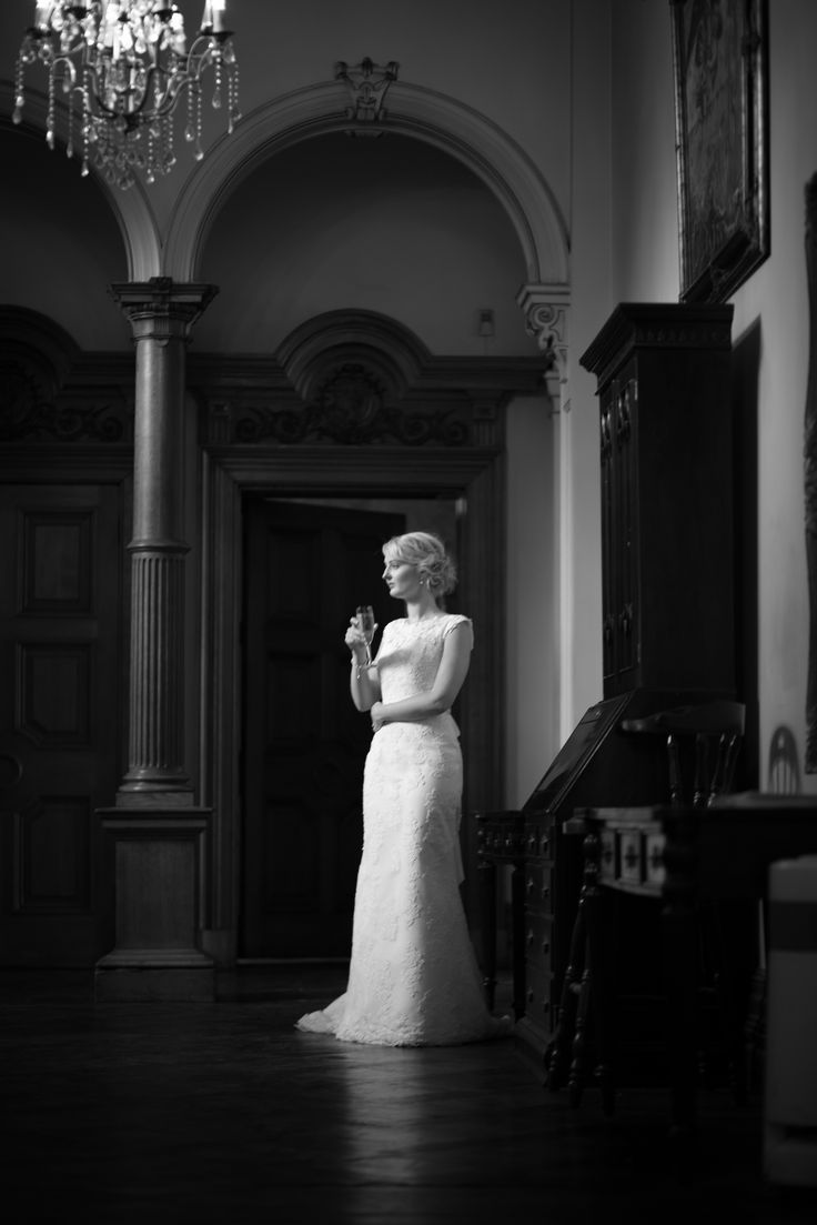 Stunning bridal gown in this dramatic wedding photography portrait from Jacob McCarthy Photography. See more at www.jacobmccarthy.co.uk www.facebook.com/jacobmccarthyphotography