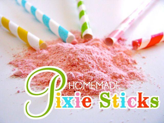 pixie sticks