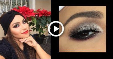 Maquillaje de ojos plata paso a paso | Navidad y ao nuevo | Brisia Danti #makeup…