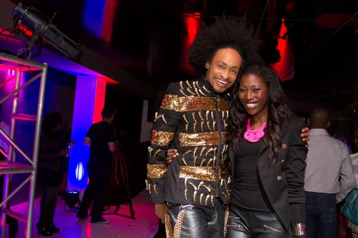 Channel O at Morongwa House of African Fashion Launch. www.mhafricanfashion.co.za