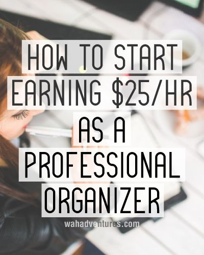 Learn how to start your own profitable professional organizer business.