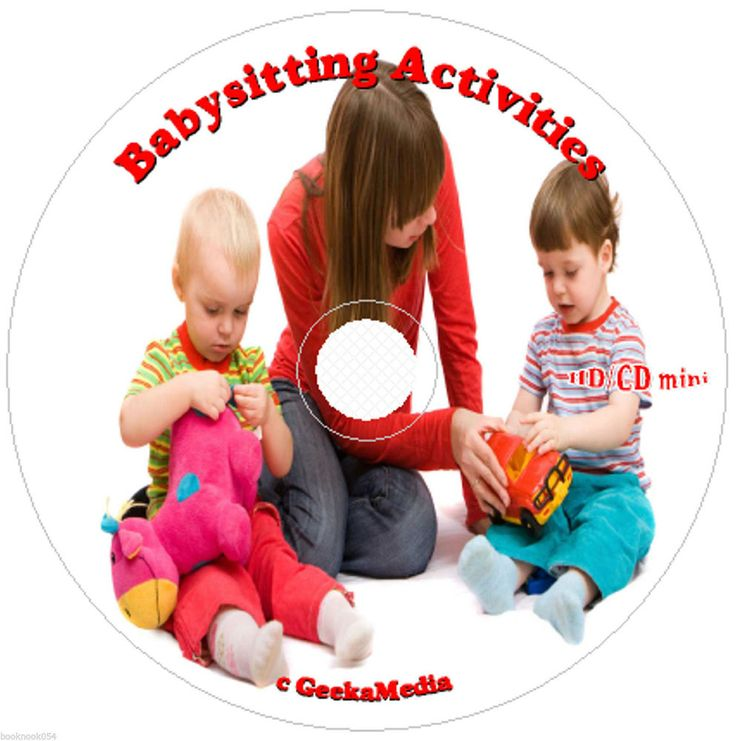 Fun Babysitting Activities  Kids of All Ages Over 500 Things to Do Cd Play Baby