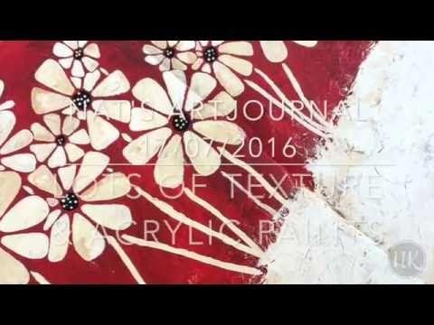 Nat's art journal 17th July 2016