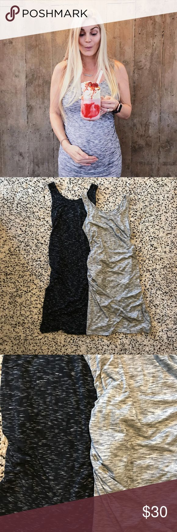 Liz Lange maternity dresses size S Get both heathered black and heathered grey maternity dresses, both gently worn and were a great maternity piece. Both size S Liz Lange for Target Dresses Strapless
