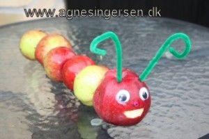 æbleorme fra minblog: http://agnesingersen.dk/blog/aebleormen/