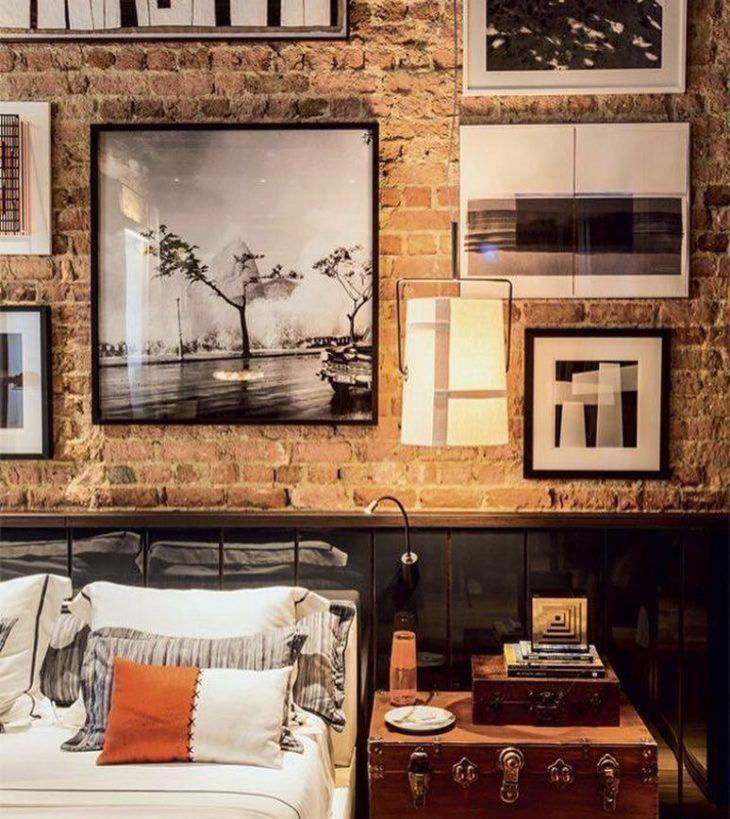 Die besten 25+ Backsteinwand schlafzimmer Ideen auf Pinterest - unbehandelte ziegelwand