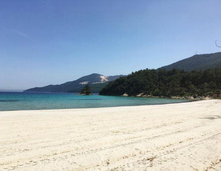 #makryammos #beach #noparasols #summertime #holidays #greece