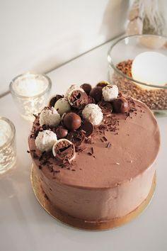 Pienet herkkusuut: Syntisen hyvä suklaakakku