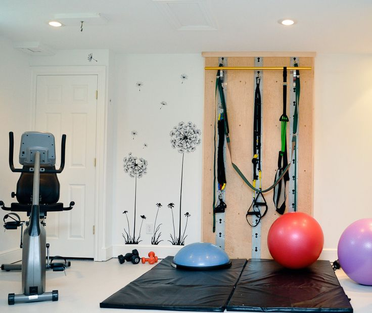 Home Gym Room Design Ideas: 22 Best Images About Home Gym Ideas On Pinterest