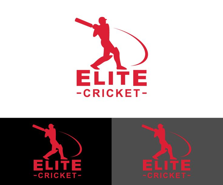 Logo Design by vichu for Sport Coaching business Elite Cricket #cricket #logo #design #DesignCrowd #sport