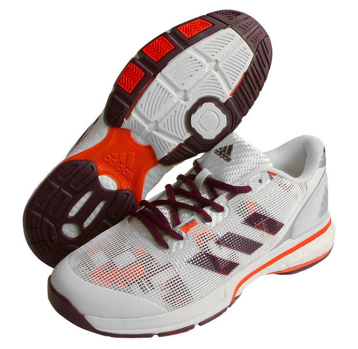 adidas Stabil Boost 20 Y Women's Badminton Shoes Indoor Sport Racquet NWT BB1820 #adidas #BadmintonShoes