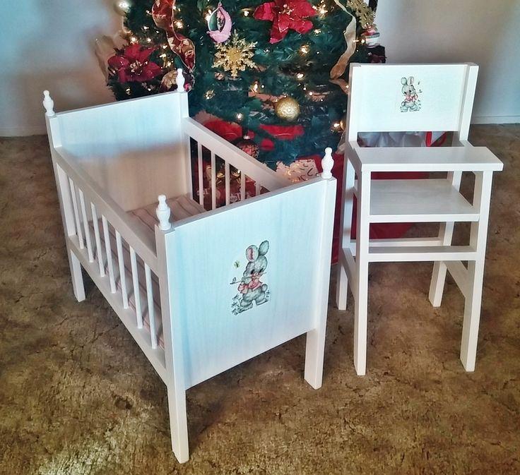 Ana White Fancy Baby Doll Crib