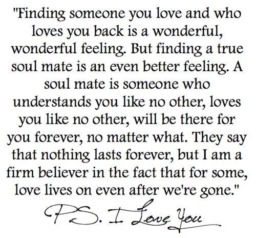 PS: I love u