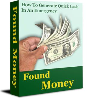 Found Money: How To Generate Quick Cash In An Emergency – Products I Love