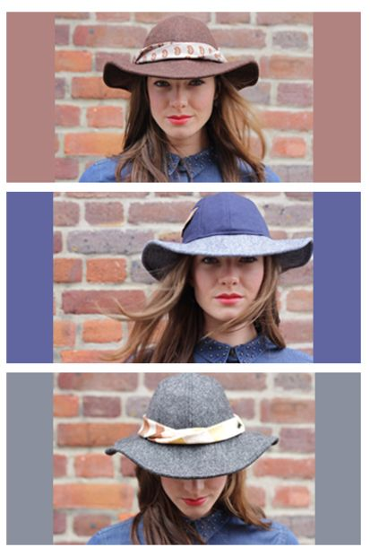 Ex-pat Emma Cheape launched The Brim Label from London last year, creating charming vintage inspired hats. Available from www.thebrimlabel.com.