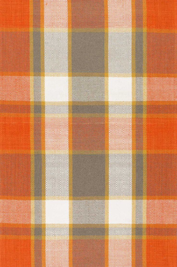 Piknick AB01 Flatweave Plaid Madras Rug