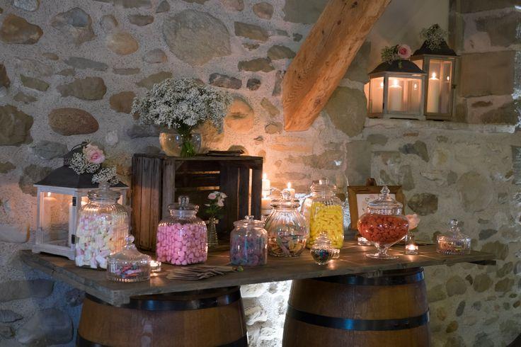 Wedding in Geneva : Candy Bar