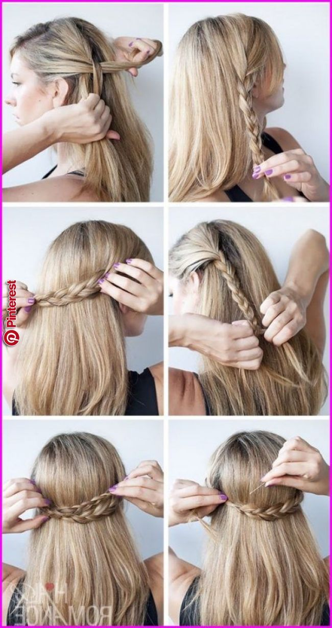 50 Easy And Cute Hairstyles For Medium Length Hair When You Can T Decide Between Long Hair O Cute Simple Hairstyles Hair Styles Easy Hairstyles For Medium Hair