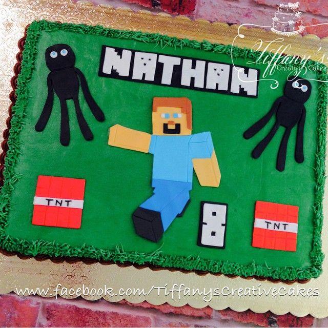 Minecraft sheet cake |  - Springboro, Ohio - Tiffany's Creative Cakes