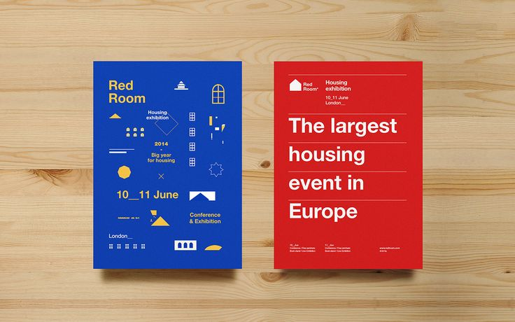 Non-commisioned branding concept (Nov 2013)Red Room is the largest housing event in London. It focuses on the provision of social and affordable housing and the development of sustainable communities. The exhibition showcases the latest products and s…